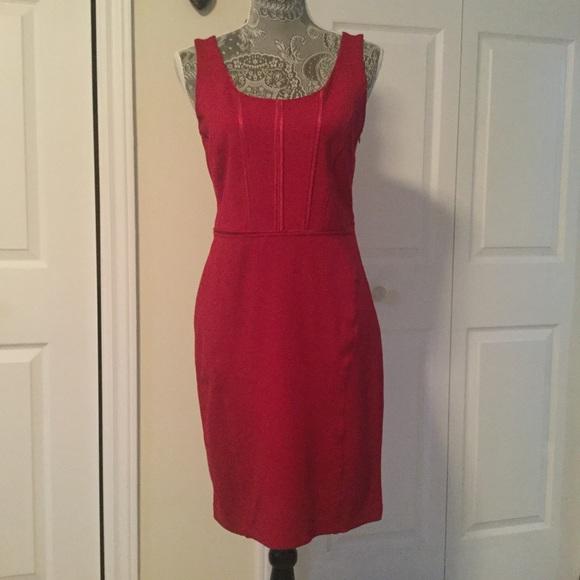 javier simorra Dresses & Skirts - Red Body hugging dress. Spanish designer